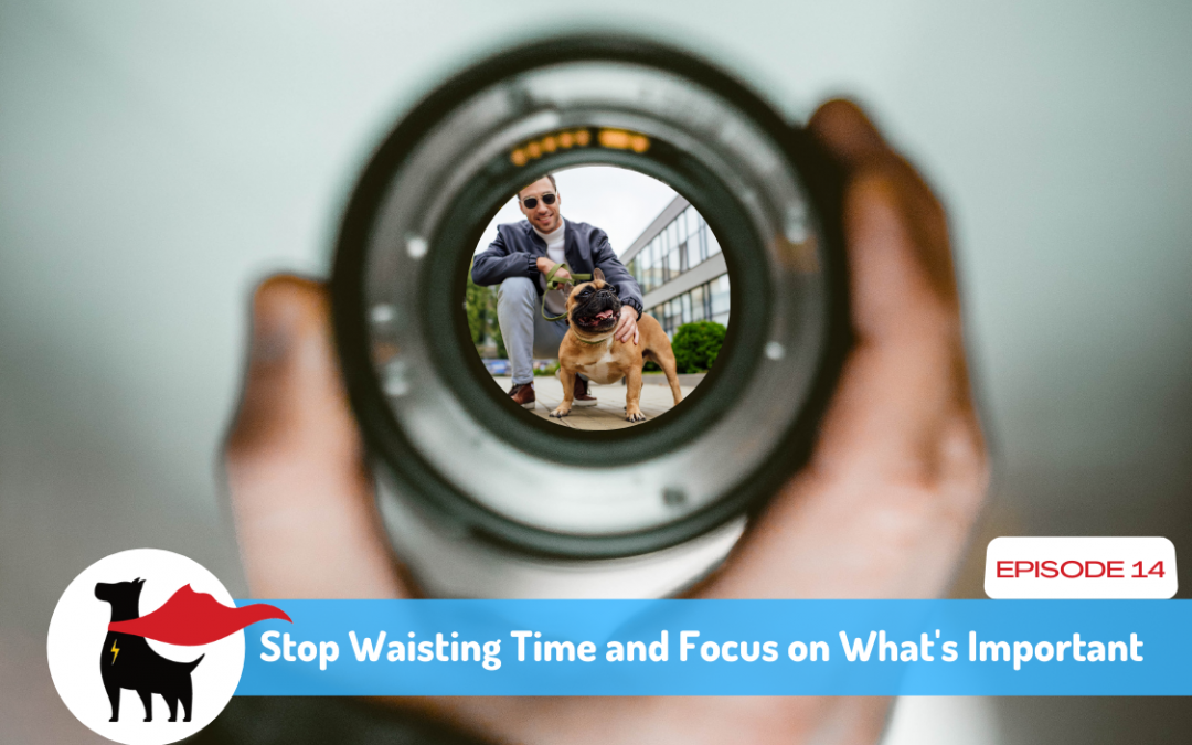Episode 14: Stop Waisting Time and Focus on What's Important